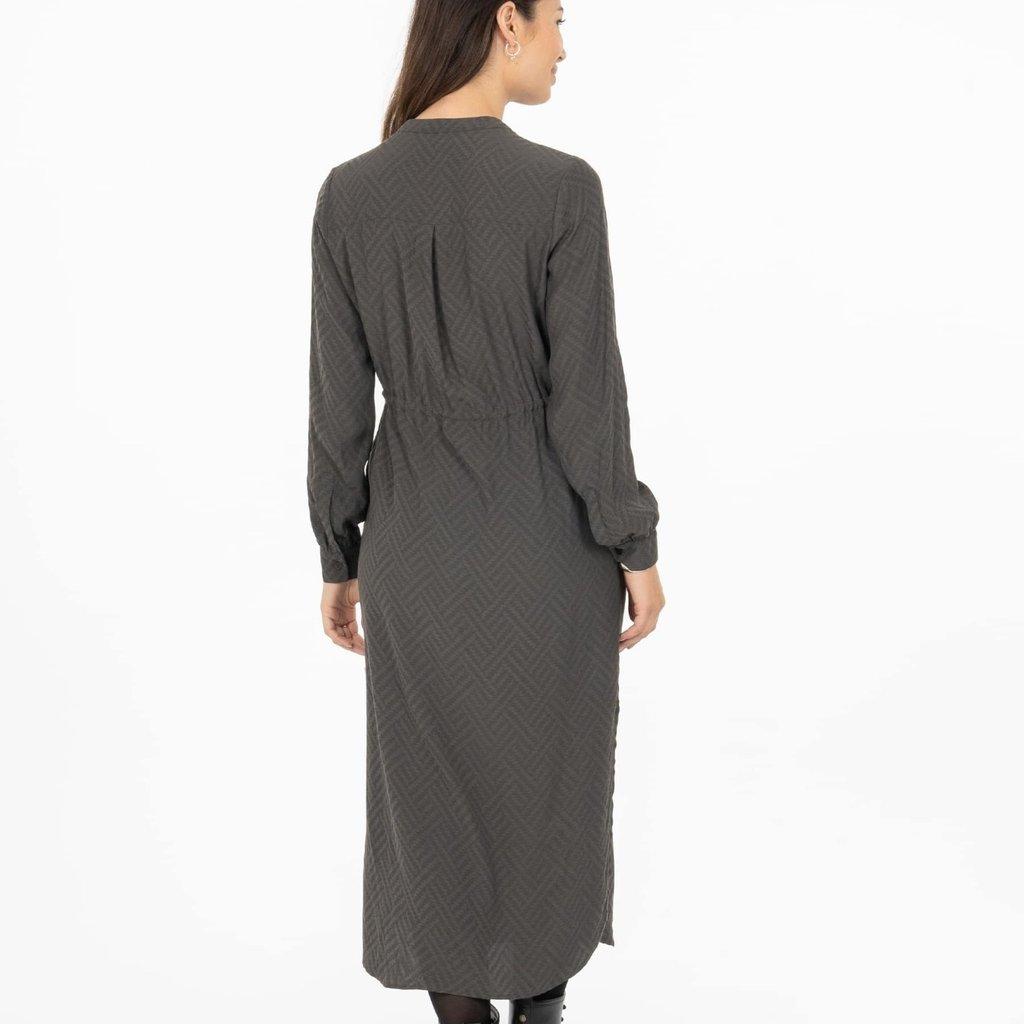 Zusss hippe jurk grafietgrijs