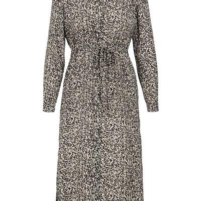 Zusss hippe jurk print zand