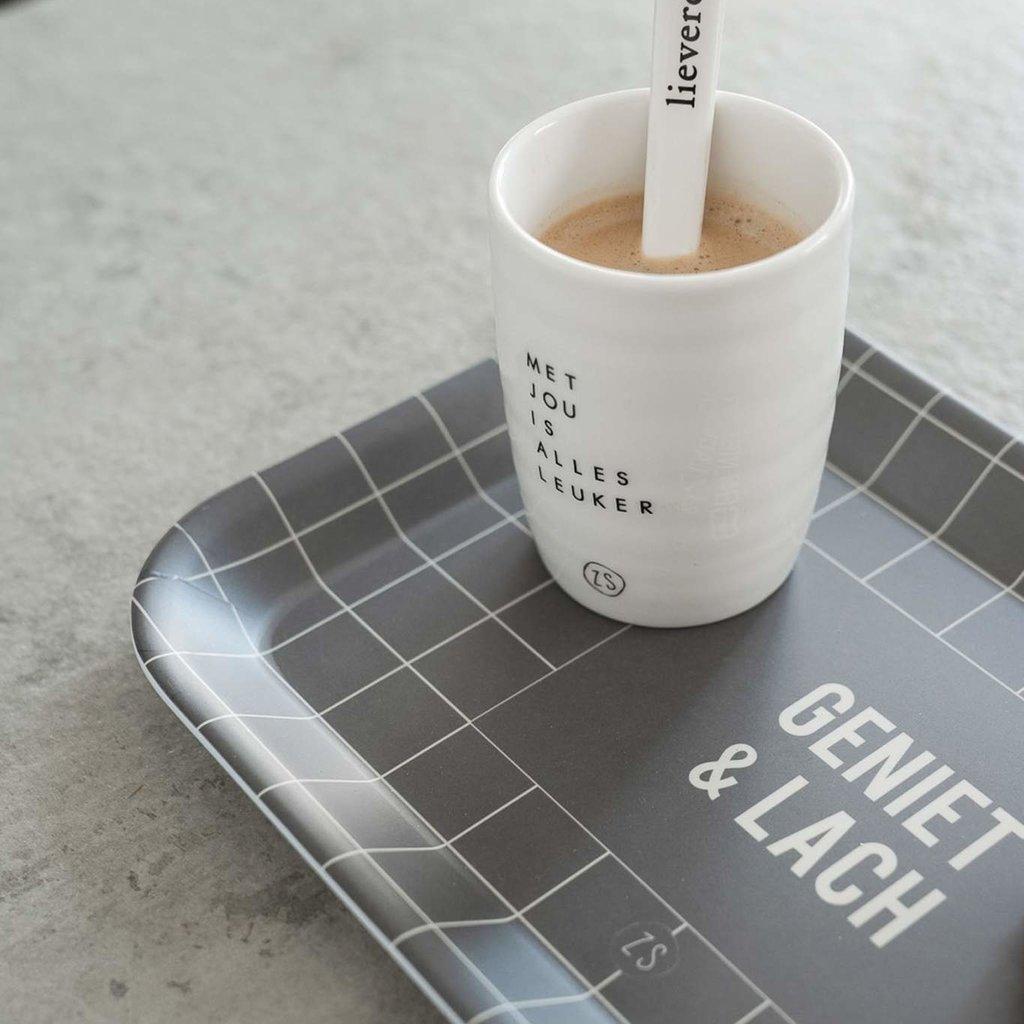 Zusss koffiemok met jou is alles leuker