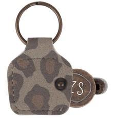 Zusss winkelwagenmuntje hartje leopard