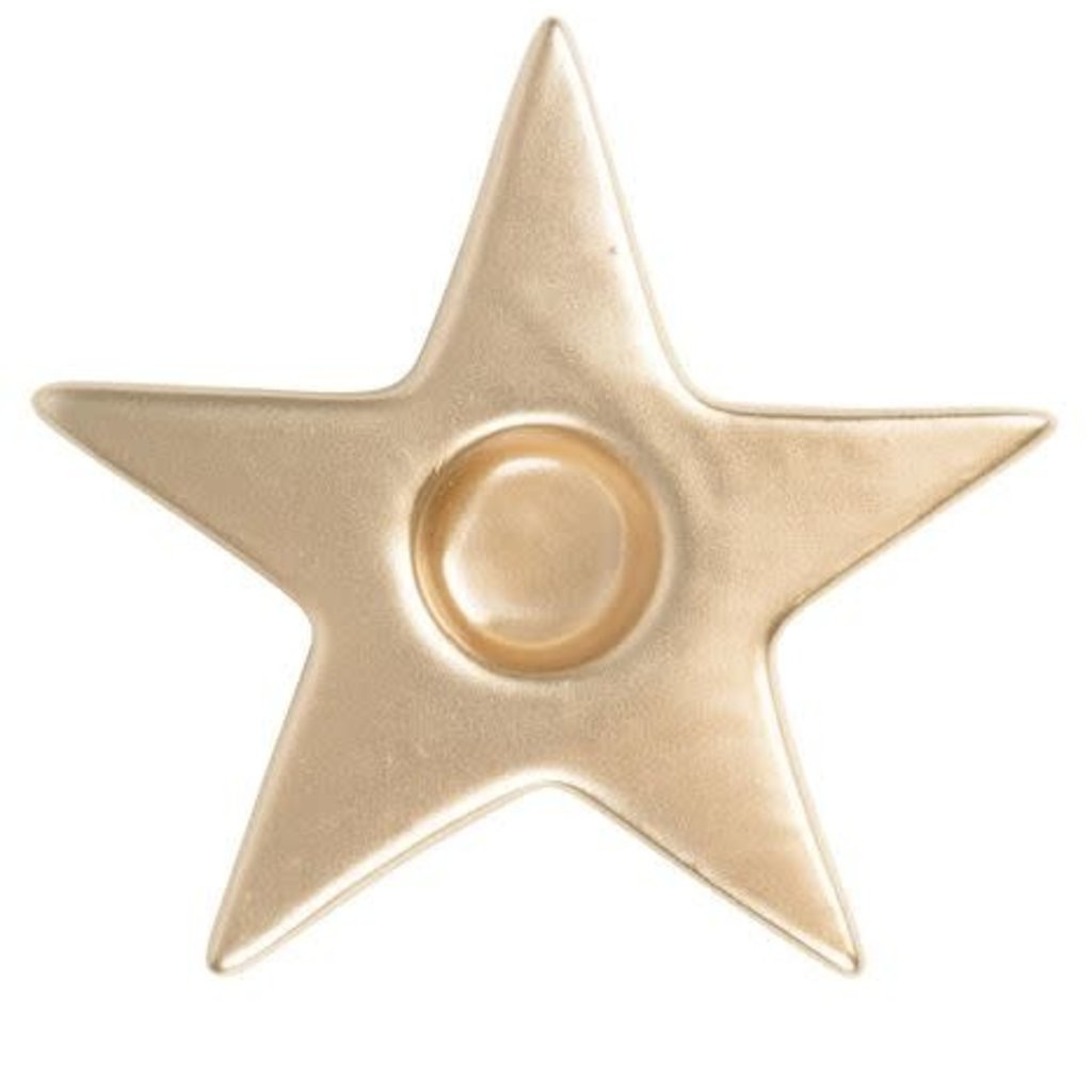 Zusss Zusss kandelaar ster goud