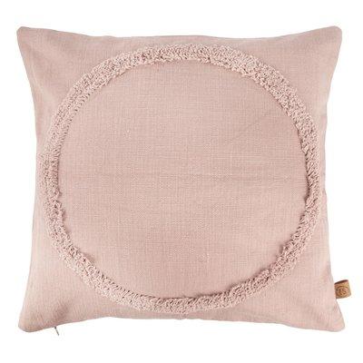 Zusss kussen cirkel 45x45cm roze
