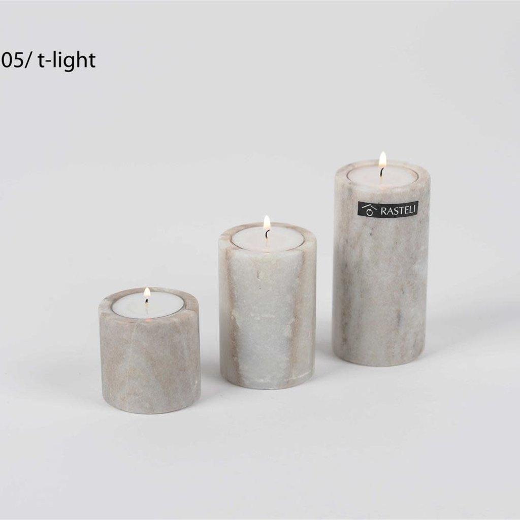 Luz Your Senses Natural Marble ø5xH5cm