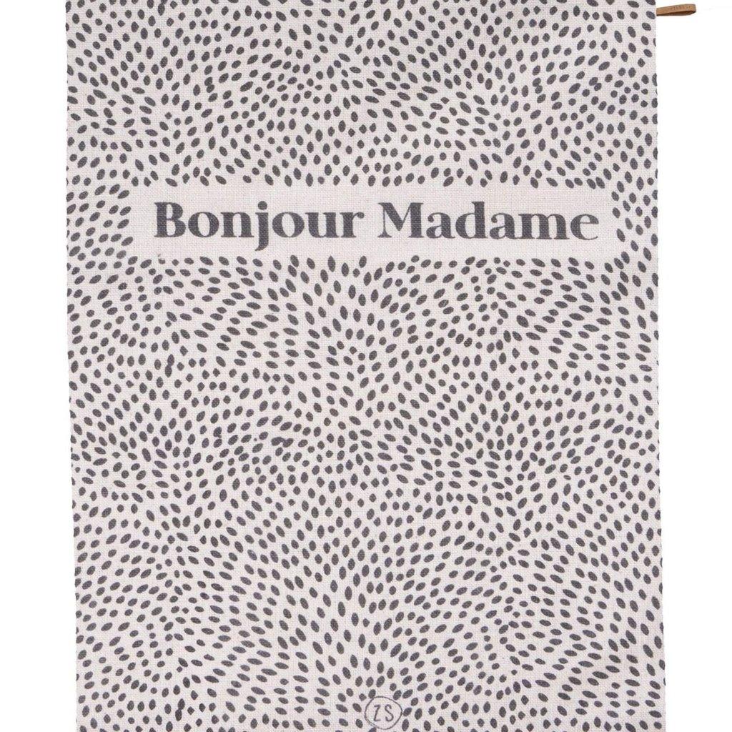 Zusss * zomers plaid bonjour madame 250x215cm
