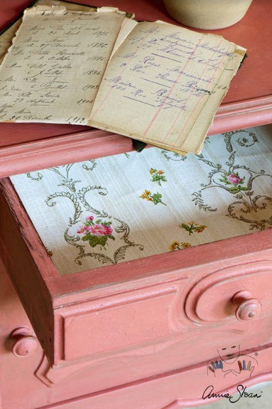Annie Sloan Scandinavian Pink 1l - 250ml - 120ml