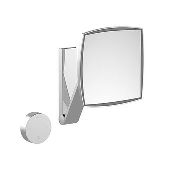 Keuco Cosmetic mirror iLook_move with fitted cable Keuco