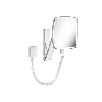 Keuco Cosmetic mirror iLook_move with spiral cable Keuco