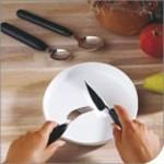 Cutlery Light / Light cutlery - Thick handle of Etac