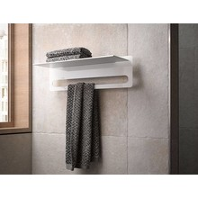 Keuco Towel rack with intrigued towel rack Edition 400 Keuco
