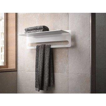 Keuco Handdoekenrek met geïntegreerde handdoekhouder serie Edition 400 Keuco