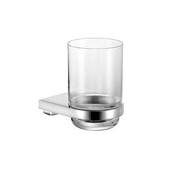 Keuco Tumbler holder + crystal glass Moll Keuco