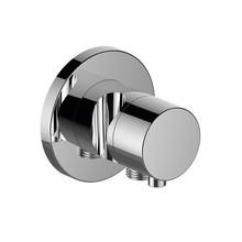 Keuco IXMO 2-Wege-Patronen-off und Einstellventil mit Schlauchanschluss und Handbrausehalter DN 15 (rund)