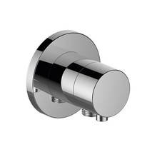Keuco IXMO built-in stop valve with hose connection DN 15 (round)