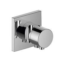 Keuco IXMO built-in stop valve with hose connection and hand shower holder DN 15 (square)