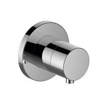 Keuco IXMO 2-way installation and adjustment valve DN 15 (round)