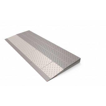 SecuCare Schwellenhilfe 2-lagiges Set (84 x 33 x 4 cm) Höhe 2,5 bis 4 cm - 850 kg - SecuCare