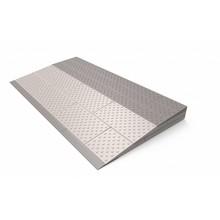 SecuCare Schwellenhilfe 3-lagiges Set (84 x 45 x 6 cm) Höhe 4,5 bis 6 cm - 850 kg - SecuCare