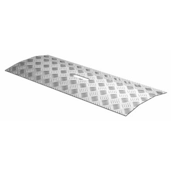 SecuCare Threshold bridge Aluminum Type 1 height difference of 2 cm - 150 kg - SecuCare