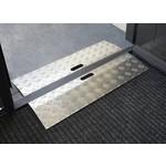 Drempelhulp - Drempelbrug Aluminium binnen & buiten