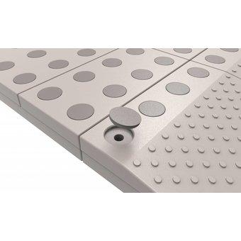 SecuCare Brown Farbe Stecker für modulare Schwelle Hilfe eingestellt SecuCare