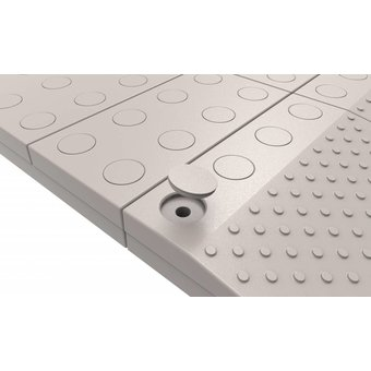 SecuCare Filled fillets set color gray for modular threshold help from SecuCare