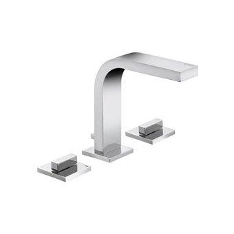 Keuco Three-hole washbasin fitting 150 + drawbar series Edition 11 Keuco