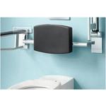 Backrest for toilet Plan Care from Keuco
