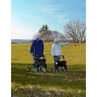 Rollator Topro Olympos - the ideal outdoor walker