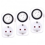 Alecto TS-123 TripleSet 3x Automatic Switching Clock from Alecto