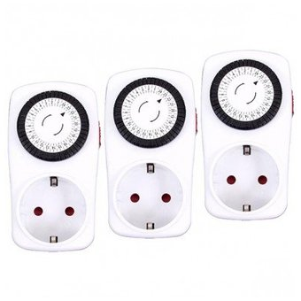 Alecto TS-123 TripleSet 3x Automatic time switch from Alecto