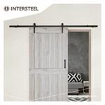 Sliding door system Basic Mat Black from Intersteel