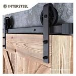 Schiebetürsystem Wheel Mat Black von Intersteel