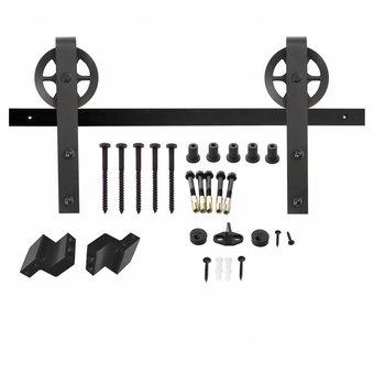 Intersteel Schiebetürsystem Wheel Mat Black von Intersteel