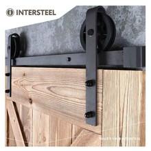 Intersteel Schiebetürsystem Radmatte Schwarz von Intersteel