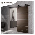 Sliding door system Modern Matt Black from Intersteel