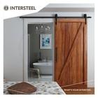Sliding door system Classic Mat Black from Intersteel