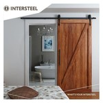 Sliding door system Classic Matt Black by Intersteel