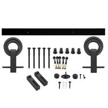 Intersteel Schiebetürsystem Modern Top Mat Black von Intersteel