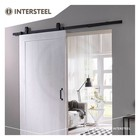 Sliding door system Basic Top Mat Black from Intersteel