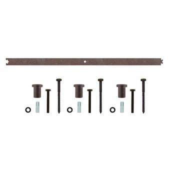 Intersteel Intermediate rail 90 cm for antique shutters system - Intersteel