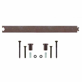 Intersteel Zwischenschiene 45 cm für Schiebesystem Antik - Intersteel