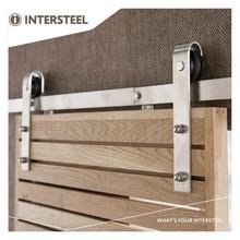 Intersteel Sliding door system Basic stainless steel from Intersteel