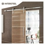 Basic stainless steel sliding door system from Intersteel
