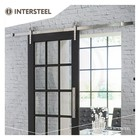 Sliding door system Modern stainless steel from Intersteel