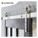 Intersteel Sliding door system Modern stainless steel