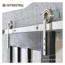 Intersteel Sliding door system Modern stainless steel