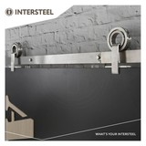 Intersteel Sliding door system Modern Top stainless steel