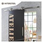 Modern Top stainless steel sliding door system from Intersteel