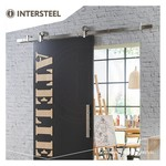 Schiebetürsystem Modern Top Edelstahl von Intersteel