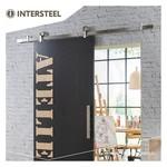 Sliding door system Modern Top stainless steel from Intersteel